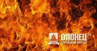 Торговый ларек сгорел в Питкярантском районе