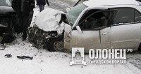 В Пряжинском районе Карелии произошла дорожная авария