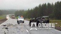 В Пряжинском районе произошло ДТП