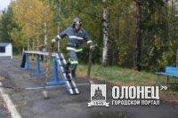 Пожарные из Питкяранты приняли участие в соревнованиях пожарных