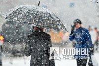 Первый снег прошел в Лодейном Поле