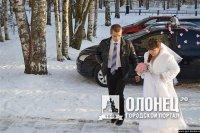 Первая свадьба в Пряже