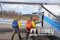В Сортавальском районе проводятся тренировки парашютистов-пожарных