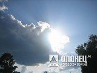 О погоде в Олонце